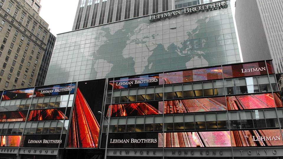 Lehman Brothers Bank in New York