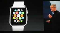 Tim Cook präsentiert Apple Watch