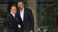 Hollande und Obama in Camp David