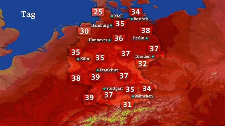 7 tage wetter trier