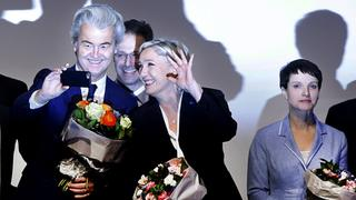 Wilders, Le Pen und Petry in Koblenz | Bildquelle: AP