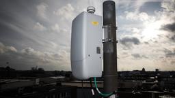 5G-Testantenne in Hamburg | Bildquelle: picture alliance/dpa