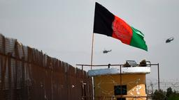 Flagge Afghanistans in Kabul | Bildquelle: AFP
