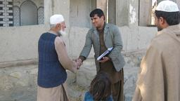 Interviewer in Laghman