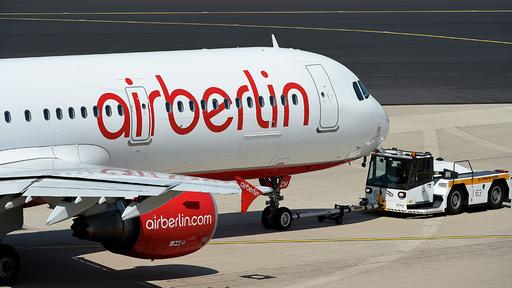 Maschine von Air Berlin
