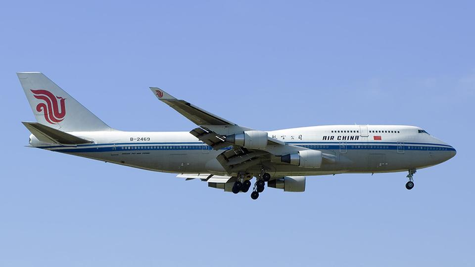 Flugzeug der Air China | picture alliance / Wolfgang Mend