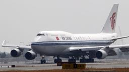 Eine Boeing 747 der Air China