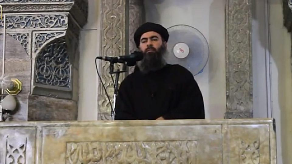 IS-Chef Abu Bakr al-Baghdadi, Archivbild