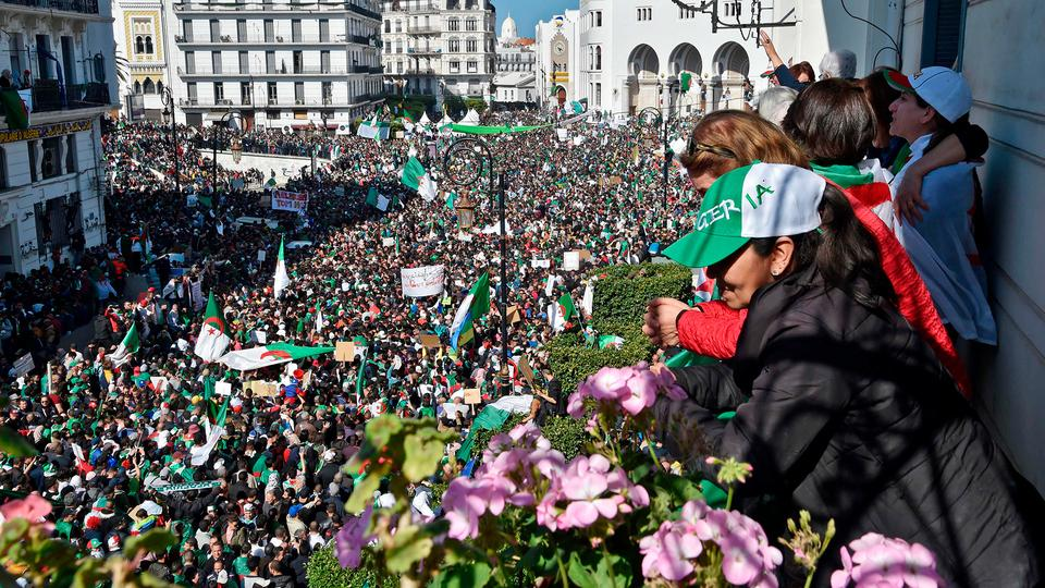 Demonstration in Algier | Bildquelle: AFP
