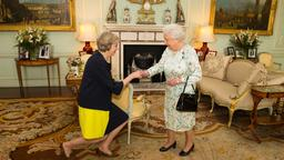 Amtwechsel Downing Street No. 10: May kommt am buckingham Palace an