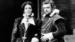 Anthony Hopkins und Diana Rigg
