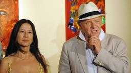 Anthony Hopkins und Stella Arroyave