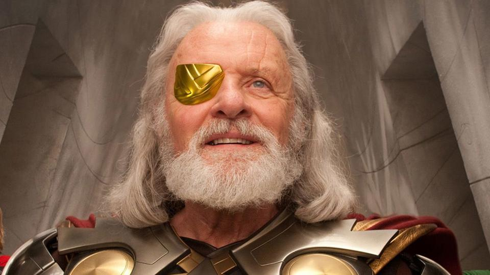 "Anthony Hopkins als Odin in ""Thor"""