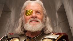 Anthony Hopkins als Odin in