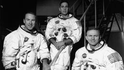 Astronauten Frank Borman, William Anders und James Lovell.