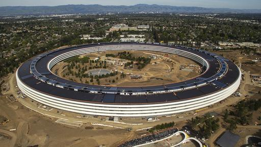 Apple-Zentrale in Cupertino: Neues Zuhause, neues iPhone