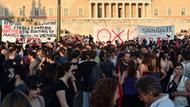 Demonstranten in Athen