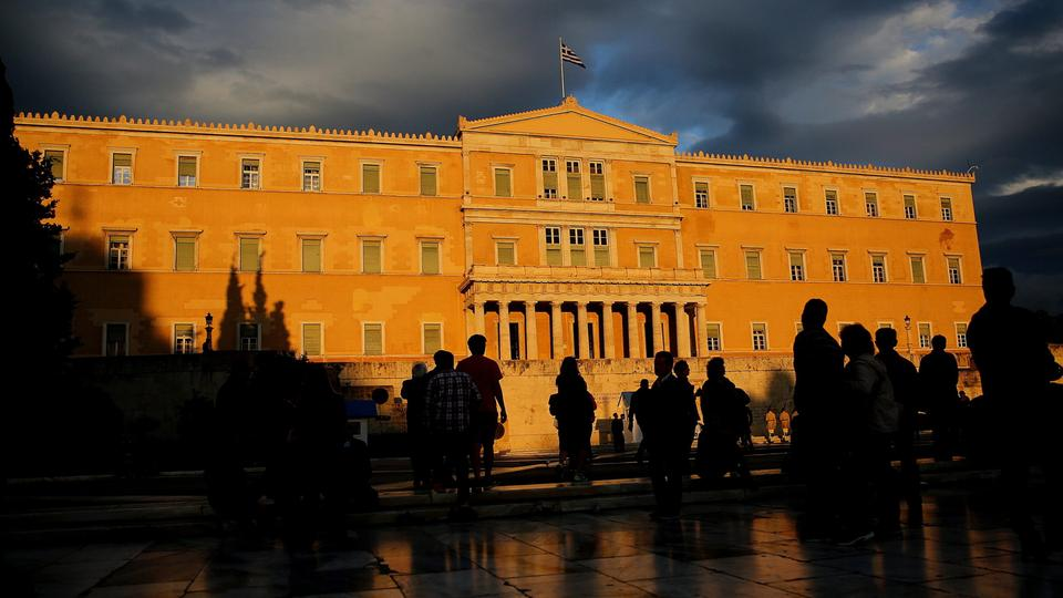 Das Parlament in Athen