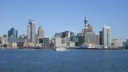 City Skyline von Auckland, Neuseeland | Bildquelle: picture alliance / Newscom