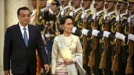 Aung San Suu Kyi trifft Li Keqiang in China