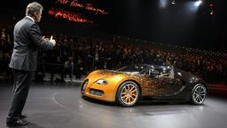 Autosalon in Genf:  Bugatti Grand Sport Venet