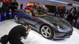Autosalon in Genf: Chevrolet Corvette Stingray Cabriolet