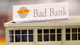 Illustration einer Bad Bank