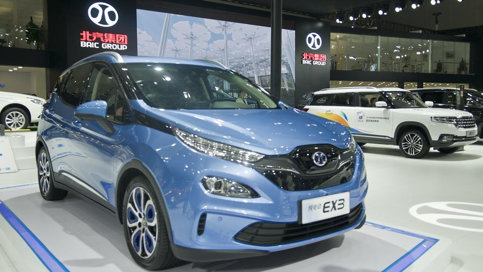 Baic EX3 | Bildquelle: picture alliance/dpa