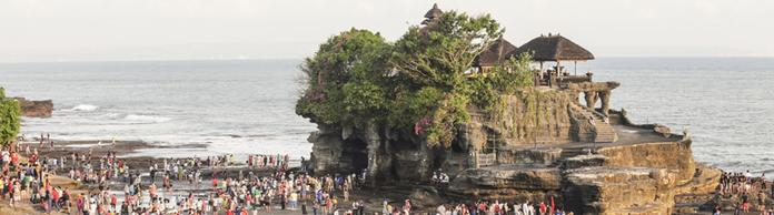 Tempel Tanah Lot | Bildquelle: picture alliance / Pacific Press