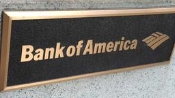 Logo der Bank of America