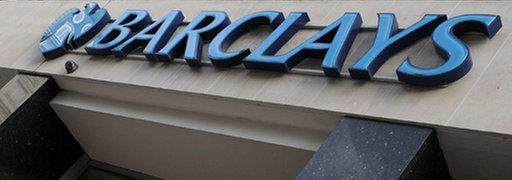 Logo der Barclays Bank