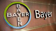 Logo Bayer AG in Leverkusen