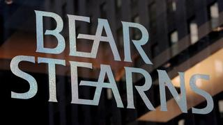 Die US-Investmentbank Bear Stearns in New York