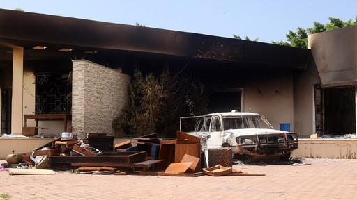 Burnt U.S. consulate in Benghazi (Photo: Reuters)