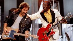 Bruce Springsteen und Chuck Berry