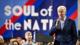 Joe Biden bei den Vorwahlen im US-Staat South Carolina | Bildquelle: AFP