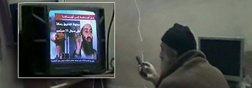 Osama Bin Laden Video Ausschnitt