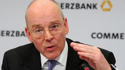 Commerzbank-Chef Martin Blessing