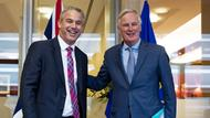 Stephen Barclay und Michel Barnier