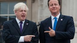Boris Johnson und David Cameron, Archivbild