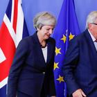Theresa May und Jean-Claude Juncker | REUTERS