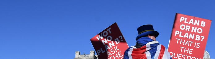 Anti-Brexit-Protest in London | Bildquelle: ANDY RAIN/EPA-EFE/REX