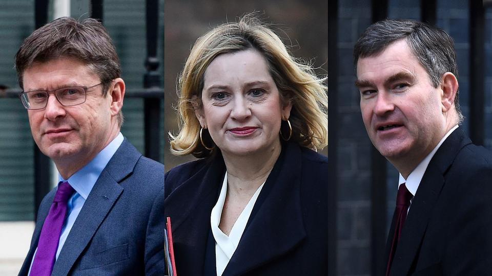 Greg Clark, Amber Rudd, David Gauke |