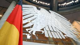 Bundesadler im Bundestag | Bildquelle: picture alliance / dpa