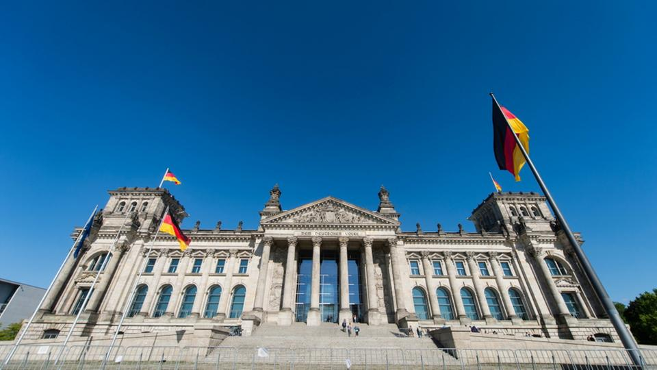 Bundestag in Berlin