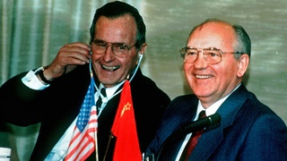 George Bush und Michail Gorbatschow | Bildquelle: picture-alliance / dpa