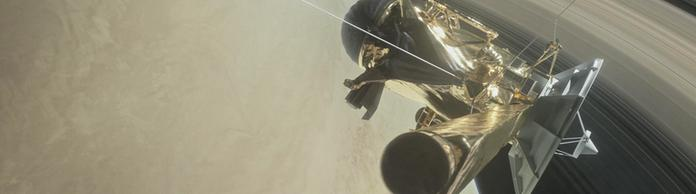 NASA-Illustration der Cassini-Sonde | Bildquelle: AFP