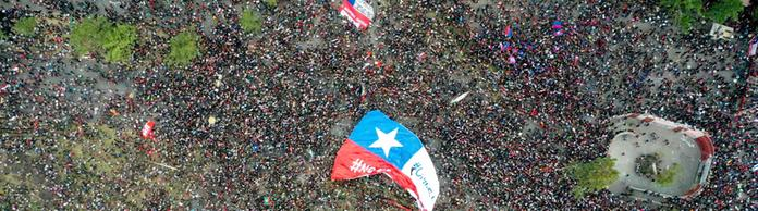 Proteste in Chile | Bildquelle: AFP