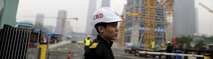 Bauarbeiter in Peking | Bildquelle: REUTERS