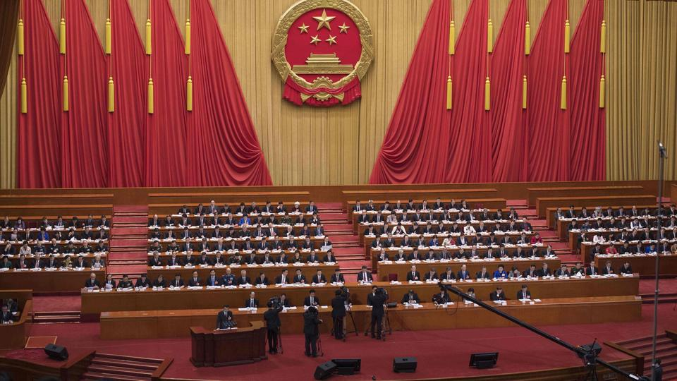 Volkskongress in China | Bildquelle: AFP